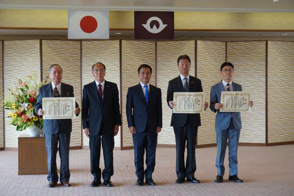 写真3.山口県産業技術振興奨励賞 受賞者集合写真